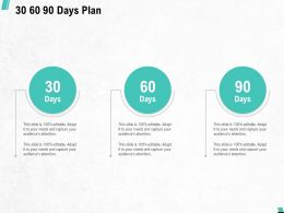 30 60 90 Days Plan A808 Ppt Powerpoint Presentation File Tips