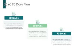 30 60 90 Days Plan A823 Ppt Powerpoint Presentation Icon Gallery
