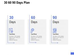 30 60 90 Days Plan A883 Ppt Powerpoint Presentation Infographic Template Background