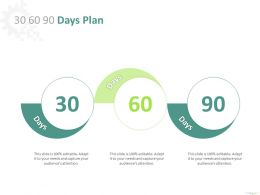 30 60 90 Days Plan A891 Ppt Powerpoint Presentation Ideas