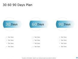 30 60 90 Days Plan A895 Ppt Powerpoint Presentation Infographics Portrait