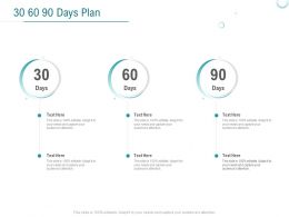 30 60 90 Days Plan A903 Ppt Powerpoint Presentation Show Structure