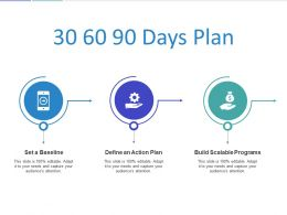 30 60 90 Days Plan Action Ppt Powerpoint Presentation File Background