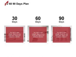30 60 90 Days Plan Analysis I466 Ppt Powerpoint Presentation Infographics Files