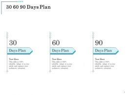30 60 90 Days Plan Audiences Attention Fixed Asset Ppt Powerpoint Presentation Pictures