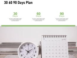 30 60 90 Days Plan Business I425 Ppt Powerpoint Presentation Outfit