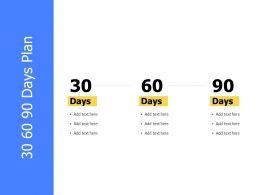 30 60 90 Days Plan Business Management K339 Ppt Powerpoint Presentation Skills
