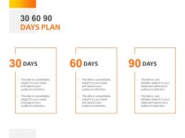 30 60 90 Days Plan C1070 Ppt Powerpoint Presentation File Format Ideas