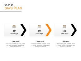 30 60 90 Days Plan C1113 Ppt Powerpoint Presentation Ideas Graphics