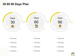 30 60 90 Days Plan C1146 Ppt Powerpoint Presentation Gallery Structure