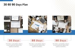 30 60 90 Days Plan C1157 Ppt Powerpoint Presentation Icon Files