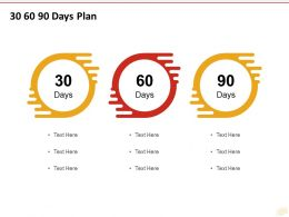 30 60 90 Days Plan C1219 Ppt Powerpoint Presentation Styles Portrait