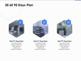 30 60 90 Days Plan C1220 Ppt Powerpoint Presentation Show Tips