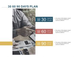 30 60 90 Days Plan C1226 Ppt Powerpoint Presentation Portfolio Templates