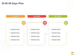 30 60 90 Days Plan C1329 Ppt Powerpoint Presentation Infographics