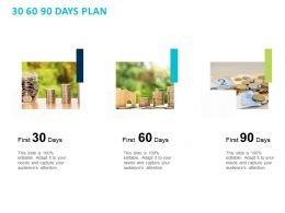 30 60 90 Days Plan C1424 Ppt Powerpoint Presentation Gallery Icon