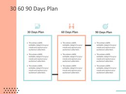 30 60 90 Days Plan C1465 Ppt Powerpoint Presentation Infographic Template Gallery