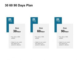 30 60 90 Days Plan Calendar L75 Ppt Powerpoint Presentation Styles Aids