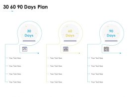 30 60 90 Days Plan Communication Planning Ppt Powerpoint Presentation Icon Guidelines