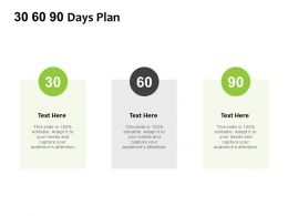 30 60 90 Days Plan F893 Ppt Powerpoint Presentation Pictures Gallery