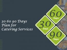 30 60 90 Days Plan For Catering Services Ppt Powerpoint Presentation Inspiration Show
