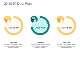 30 60 90 Days Plan How To Rank Various Prospects In Sales Funnel Ppt Model Graphics Example