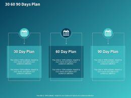 30 60 90 Days Plan M151 Ppt Powerpoint Presentation Infographic Template Portfolio
