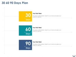30 60 90 Days Plan M25 Ppt Powerpoint Presentation Summary Graphics Pictures