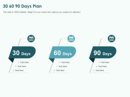 30 60 90 Days Plan M5 Ppt Powerpoint Presentation Gallery Background Images