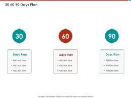 30 60 90 Days Plan M790 Ppt Powerpoint Presentation File Deck