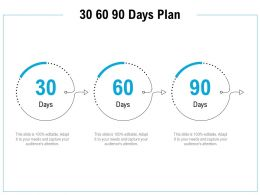 30 60 90 Days Plan Management C1106 Ppt Powerpoint Presentation Gallery