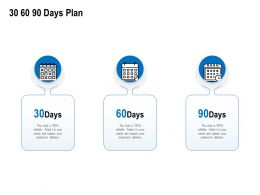 30 60 90 Days Plan Management C1215 Ppt Powerpoint Presentation Portfolio