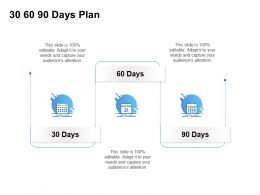 30 60 90 Days Plan Management C1256 Ppt Powerpoint Presentation Inspiration