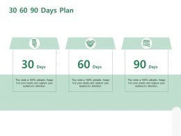 30 60 90 Days Plan Management C1272 Ppt Powerpoint Presentation Diagram