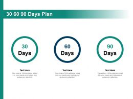 30 60 90 Days Plan Management C1306 Ppt Powerpoint Presentation Gallery