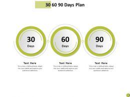 30 60 90 Days Plan Management C898 Ppt Powerpoint Presentation Summary Ideas