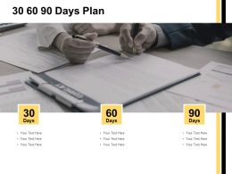 30 60 90 Days Plan Management I416 Ppt Powerpoint Presentation File Graphic