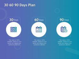 30 60 90 Days Plan Management L1060 Ppt Powerpoint Presentation Styles