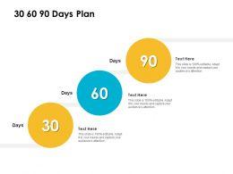 30 60 90 Days Plan Management L1200 Ppt Powerpoint Presentation Outline