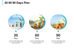 30 60 90 Days Plan Management L556 Ppt Powerpoint Presentation Professional