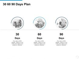 30 60 90 Days Plan Management L716 Ppt Powerpoint Presentation