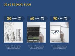30 60 90 Days Plan Management L844 Ppt Powerpoint Presentation Tips
