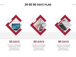 30 60 90 Days Plan Management L849 Ppt Powerpoint Presentation Files
