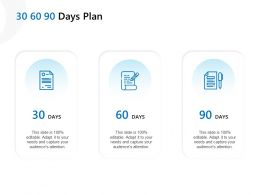 30 60 90 Days Plan Management L921 Ppt Powerpoint Presentation Gallery