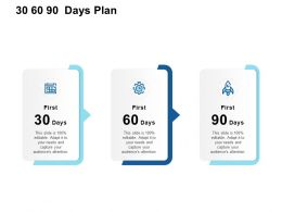 30 60 90 Days Plan Management L924 Ppt Powerpoint Presentation Slide