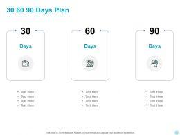 30 60 90 Days Plan Management L950 Ppt Powerpoint Presentation Aids