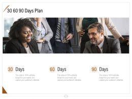 30 60 90 Days Plan Management Ppt Powerpoint Presentation Model Templates
