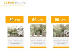 30 60 90 Days Plan Marketing A819 Ppt Powerpoint Presentation Model Example File