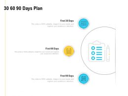 30 60 90 Days Plan Marketing A827 Ppt Powerpoint Presentation Icon Design Templates