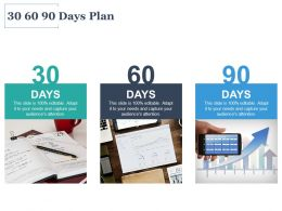 30 60 90 Days Plan Marketing C1076 Ppt Powerpoint Presentation Icon Microsoft